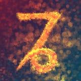 Capricorn horoskopu znak Ilustracji