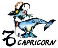 Capricorn illustration royalty free stock image