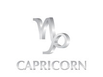 Capricorn sign. Astrological symbol of sign capricorn 3d Royalty Free Stock Photography