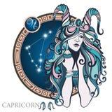 capricorn Sinal do zodíaco ilustração royalty free