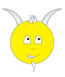 Capricorn Smiley Royalty Free Stock Images