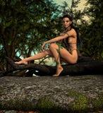 Capricorn woman Stock Image