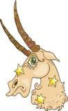 Capricorn zodiac sign Stock Photography
