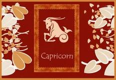 Capricorn zodiac sign Stock Images