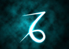Capricorn zodiac sign Stock Photos