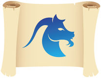 Capricorn zodiac star sign Royalty Free Stock Images