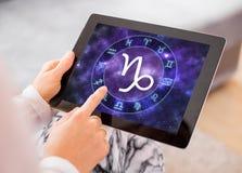 Capricorn zodiaka znak Obrazy Royalty Free