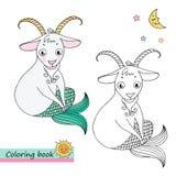 Capricorne de signe de zodiaque Image libre de droits