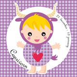 Capricorne de zodiaque Photos stock