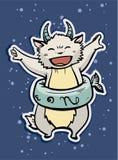 Capricornio de la muestra del zodiaco Fotos de archivo libres de regalías