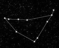 Capricornus de la constelación Imágenes de archivo libres de regalías