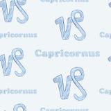 Capricornus seamless Royalty Free Stock Photos