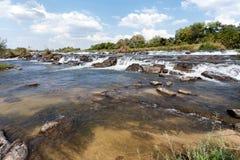 caprivi spadek sławny Namibia północy popa zdjęcie royalty free