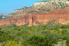 Caprock Canyons State Park in Texas. Geological formations in Caprock Canyons State Park in Texas Stock Image