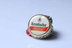Caps of beer and beverage Royalty Free Stock Photography