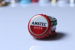 Caps of beverage Stock Photo