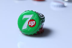Caps of beverage Royalty Free Stock Photography