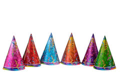 Caps Celebrating Stock Image