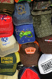 Caps Collection Stock Images