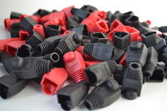 Caps for connectors Stock Photography
