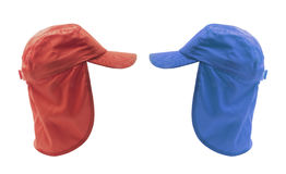 Caps with Hoods Stock Photography