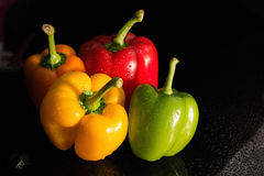 capsicum stockfotos