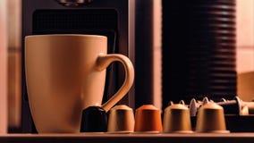 Coffee capsule stock photography