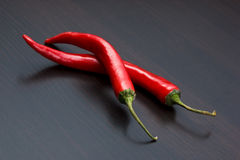 Capsicum and cooking utensils Royalty Free Stock Images
