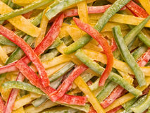 Capsicum salad. Close up of capsicum salad food background royalty free stock photo