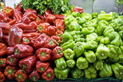Capsicum for Sale Royalty Free Stock Images