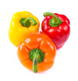 capsicum. sweet peppers Royalty Free Stock Images