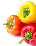 capsicum. sweet peppers Royalty Free Stock Image