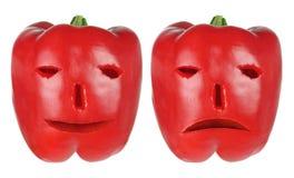 capsicums красные Стоковые Изображения
