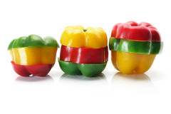Capsicums Stock Photography