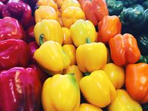 Capsicums or bell peppers Royalty Free Stock Images