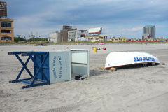 Capsized Atlantic City Stock Photography
