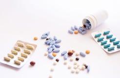 Capsles e pillole Immagine Stock Libera da Diritti
