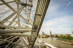 Capsula degli occhi di Londra Immagini Stock
