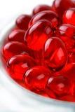 capsula dell'olio di pesce Immagini Stock Libere da Diritti