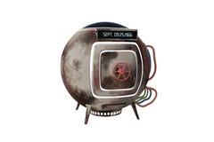 Capsula della macchina del tempo Fotografia Stock Libera da Diritti