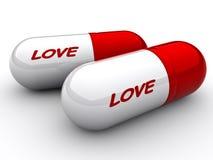 Capsula di amore Immagini Stock Libere da Diritti