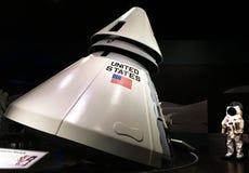 Capsula di Apollo fotografia stock