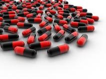 capsule 3d illustrazione di stock