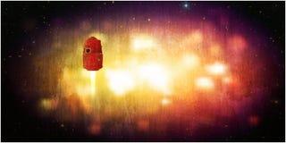 Capsule d'espace illustration de vecteur