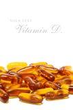 Capsule d'huile de poisson de foie de morue, Photo libre de droits