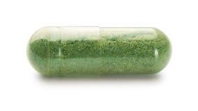 Capsule de fines herbes images libres de droits