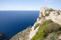 Capsule a de formentor - costa hermosa de Majorca, España Imagen de archivo