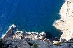 Capsule a de formentor - costa hermosa de Majorca, España Imagen de archivo libre de regalías