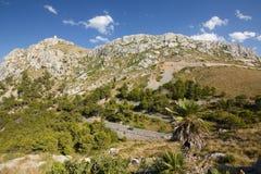 Capsule a de formentor - costa hermosa de Majorca, España Imagenes de archivo