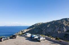 Capsule a de formentor - costa hermosa de Majorca, España - Europa Imagen de archivo libre de regalías
